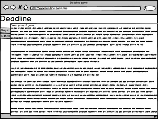 Strona główna dla niezalogowanego użytkownika